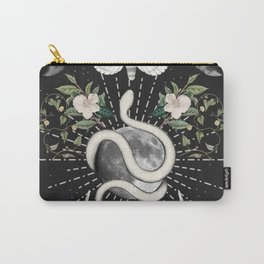 Full Moon Magic On Black Carry-All Pouch
