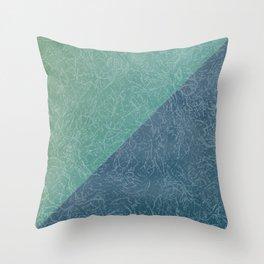 Sea Texture Throw Pillow