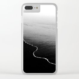 dead calm Clear iPhone Case