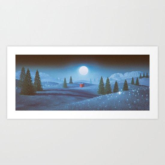 BE PRESENT (everyday 12.24.16) Art Print