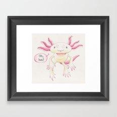 Oh, hai! Framed Art Print