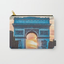 France Photography - Arc De Triomphe In The Sunrise Carry-All Pouch