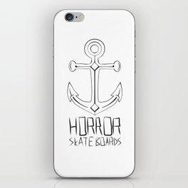 Horror Skateboards anchor  iPhone Skin