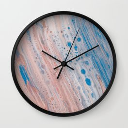 Abstract Color Flow Wall Clock