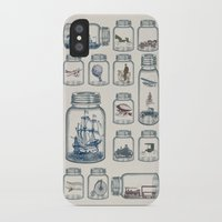 marianna iPhone & iPod Cases featuring Vintage Preservation by Paula Belle Flores
