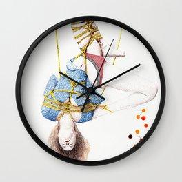 Shibari Wall Clock