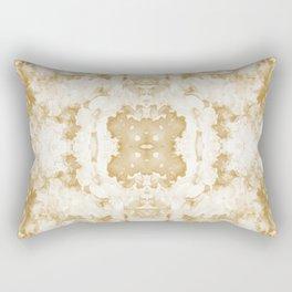 Abstract 20 Sepia Rectangular Pillow