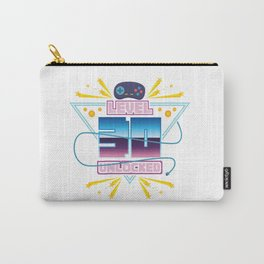 Level Up Typical Gamer Gaming Nerdy 40 Player Gift Carry-All Pouch