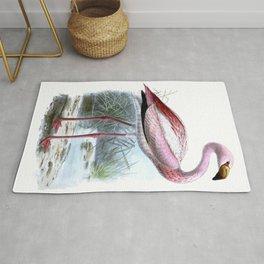 Puna Flamingo Rug