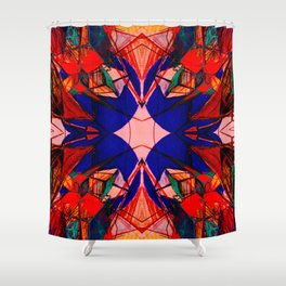 Scribbled Shower Curtain