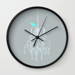 Pretty Classy Bird Wall Clock
