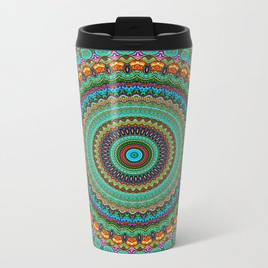 bohemian rhapsody  Mandala Metal Travel Mug