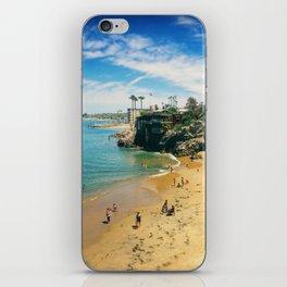 Playful Shores iPhone Skin