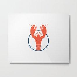 Lobster Lake Metal Print