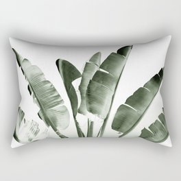 Traveler palm Rectangular Pillow