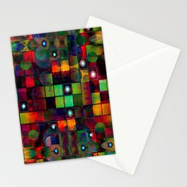 Urban Perceptions, Abstract Shapes Stationery Cards