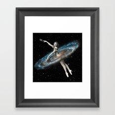 Cosmic Ballerina, Part 3 Framed Art Print