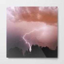 Lighting Bolt  Metal Print