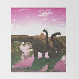 Brachiosaurus Throw Blanket