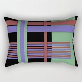 Abstract #407 Rectangular Pillow