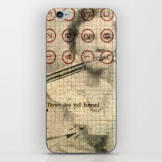 The Authoress iPhone & iPod Skin
