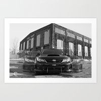 subaru Art Prints featuring Seeing Subaru by Valerie Agrusa Photography