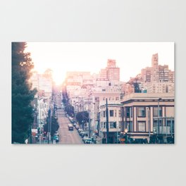 Hills of San Francisco Fine Art Print  • Travel Photography • Wall Art Canvas Print