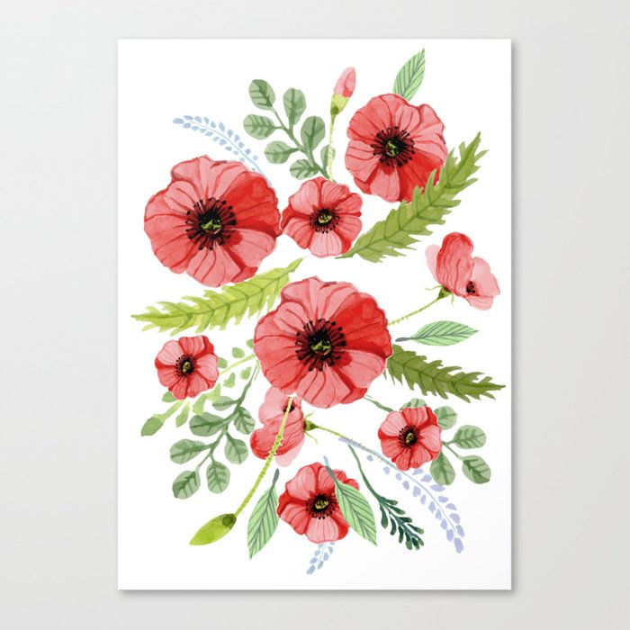 Flowers 110 Canvas Print