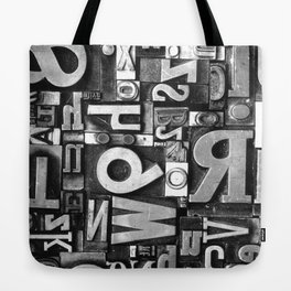 Metal Madness - Typography Photography™ Tote Bag
