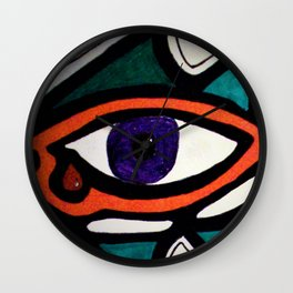 Eye of the Beholder Wall Clock