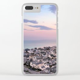 Easter Sunset Clear iPhone Case