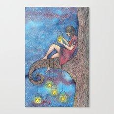 Star Collector Canvas Print