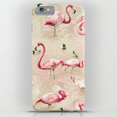 Flamingos Vintage Pink  Slim Case iPhone 6 Plus