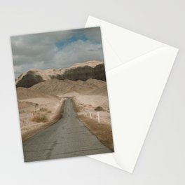Road Trip to Jerusalem| Desert in Israël| Cloudy day on the road| Wanderlust travel photography wall art Stationery Cards