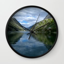 Rondane - Rondevannet  Norway Wall Clock