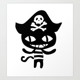 Life is strange Before the storm - Chloe Pirate Cat Cosplay Art Print