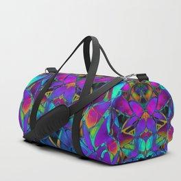 Floral Fractal Art G308 Duffle Bag