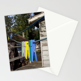 Hang your own laundry Stationery Cards