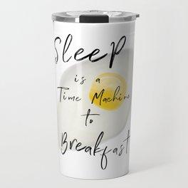 Breakfast / poster, art print, pictures, scandinavian, nursery, deco, saying, christmas, sarcasm, eg Travel Mug