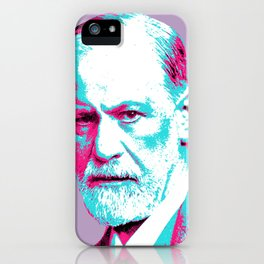 Sigmund Freud iPhone Case