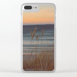 Sunkissed Beach Clear iPhone Case
