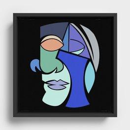 The Face 2 Framed Canvas