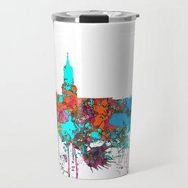 Arequipa, Peru Skyline - Confetti Travel Mug
