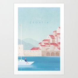 Croatia Art Print