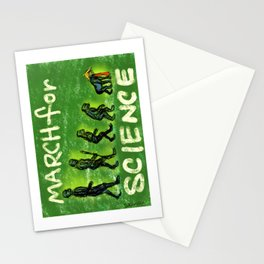 March For Science Stationery Cards