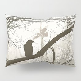 Natural crows Pillow Sham