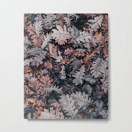 Leaves 3 by Annie Spratt Metal Print