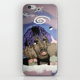 Luv Is Rage iPhone Skin