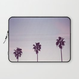 Los Angeles Sunset + Palm Tree Silhouettes Laptop Sleeve