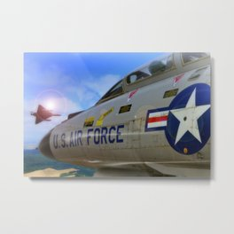 McDonnell Douglas F-4 Phantom Metal Print